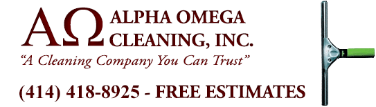 Alpha Omega Cleaning - Milwaukee, WI Logo